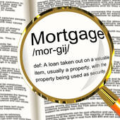 Dictionary showing Mortgage