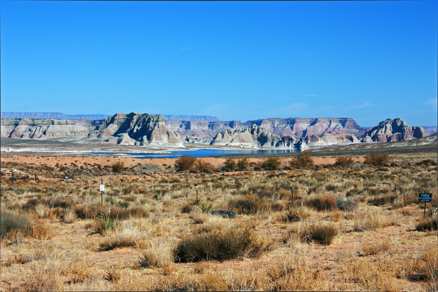 Looking North Toward Lake Powell from Lot