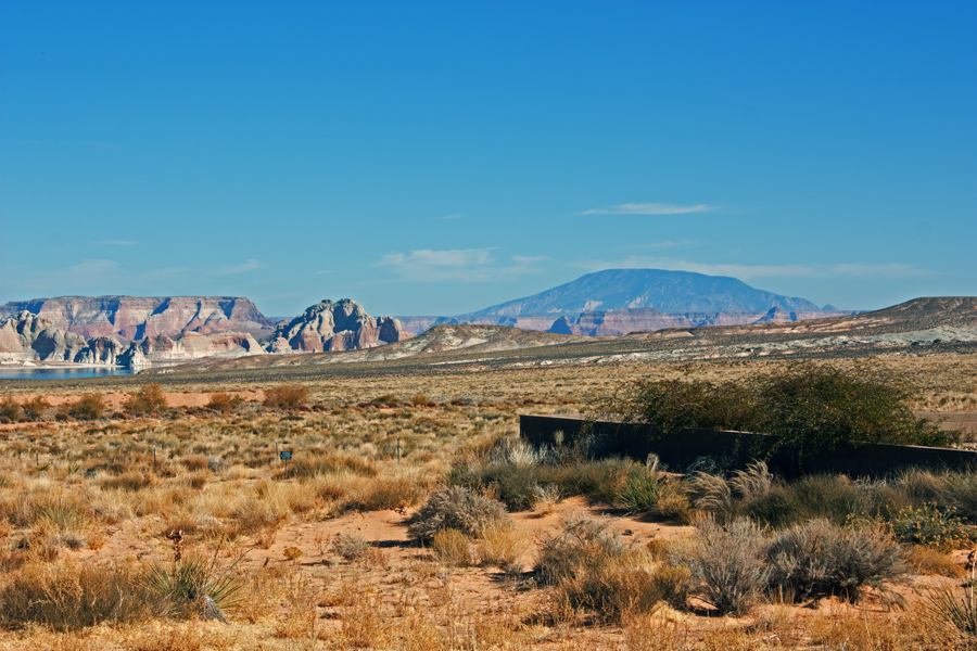 View North East to Navajo Moutain