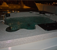 Upper Deck Hot Tub