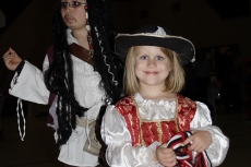 Jack Sparrow and Pirate Girl