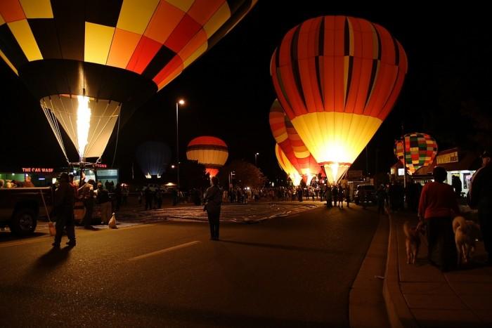 Balloon Glow in Page AZ by Heather Rankin