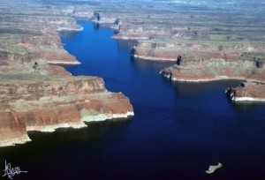 Photo of Lake Powell taken by Ashley Rankin