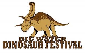 Big Water Dinosaur Festival Logo