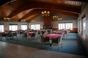 Interior seating in former Lake Powell Golf Course on 5.69 acres