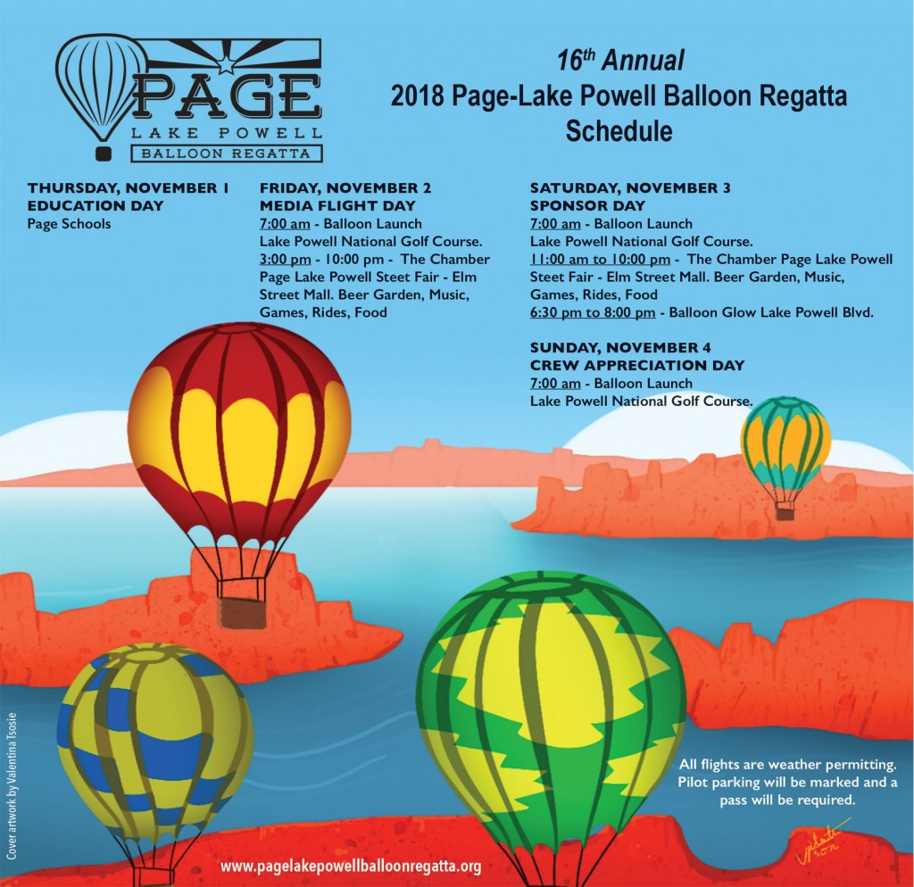 Page Lake Powell Balloon Regatta Flyer