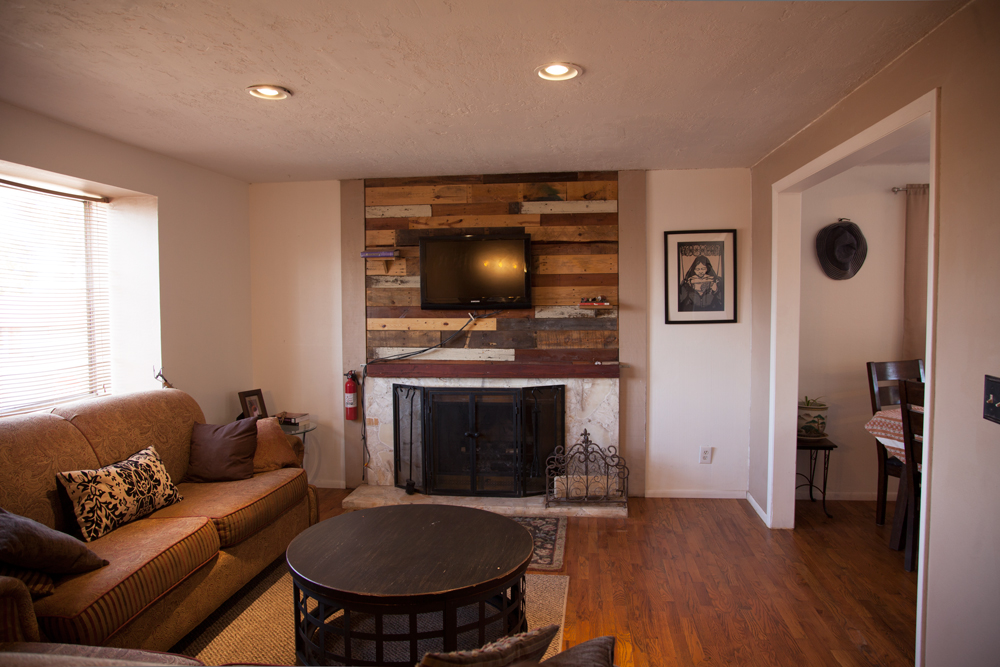 Upstairs Living Room in Page AZ Home