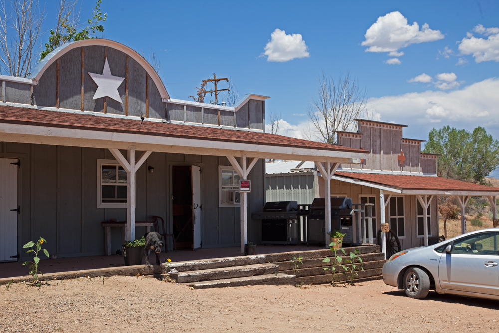 Old West Paria Buildings